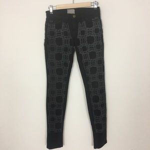 Current/Elliiot + Marni mid rise skinny jeans